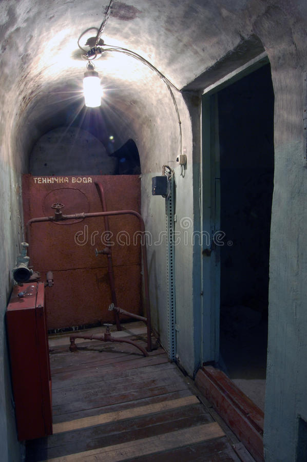 bunker royaltyfri foto