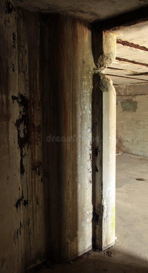 Bunker-Eckdetail lizenzfreie stockbilder