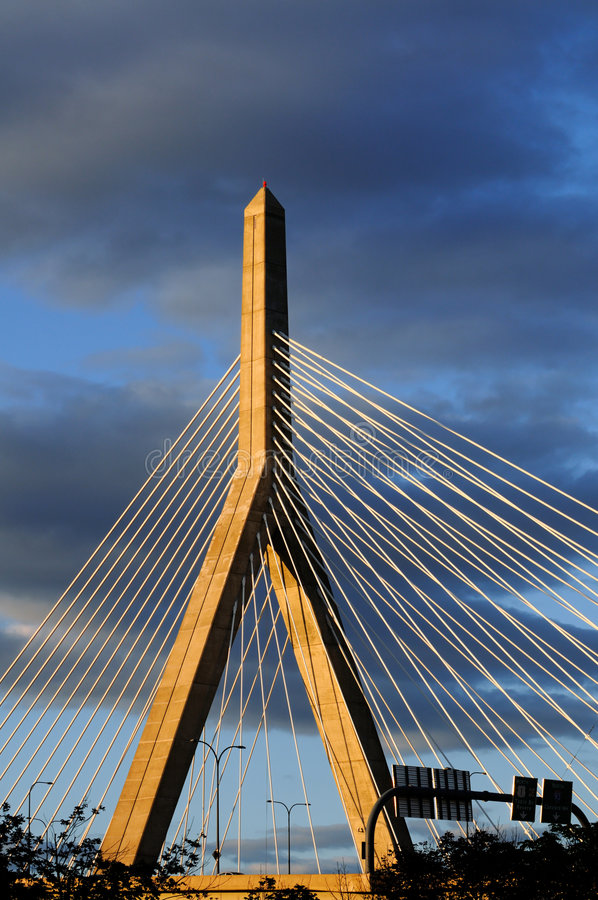 Download Bunker Hill Bridge In Boston Stock Photos - Image: 7437633