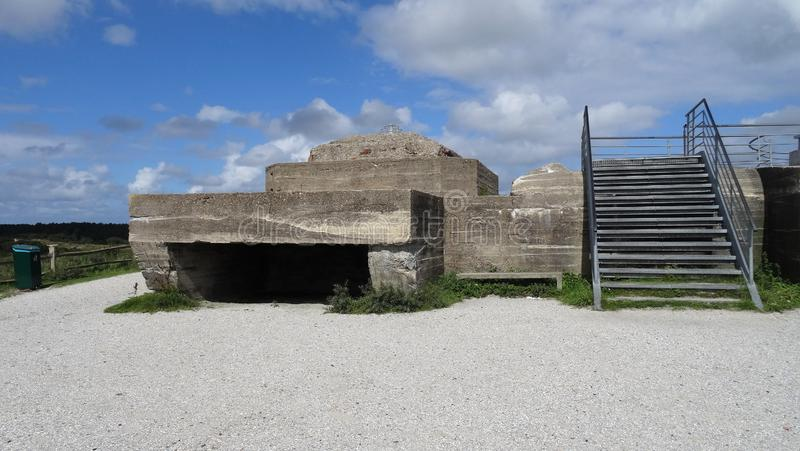 Bunker Wassermann stockbilder