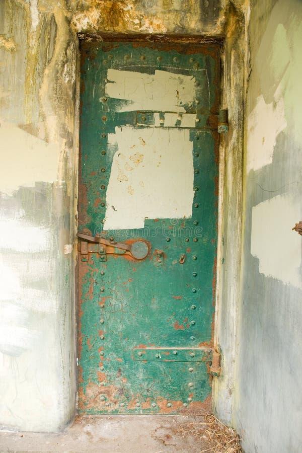 bunkerforten worden royaltyfri fotografi