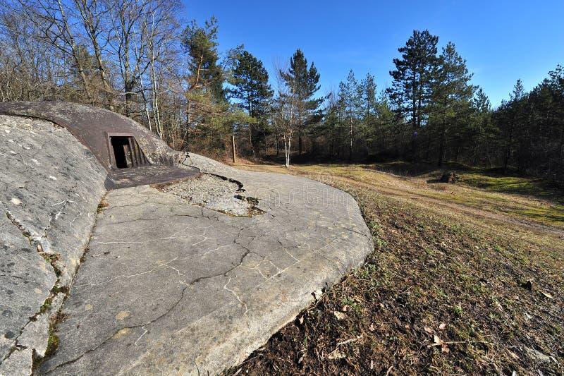 bunkieru najpierw wojenny świat zdjęcie royalty free