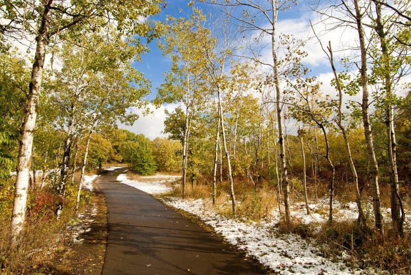 bunkieru zmian wzgórzy park sezonowy obrazy royalty free