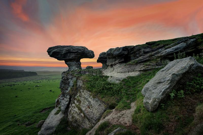 Bunnet Stane英国 图库摄影