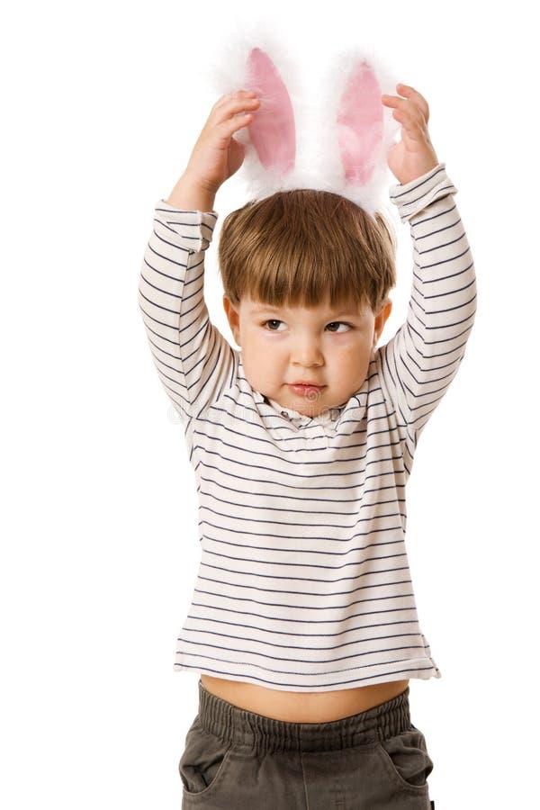 bunny αγοριών στοκ εικόνες