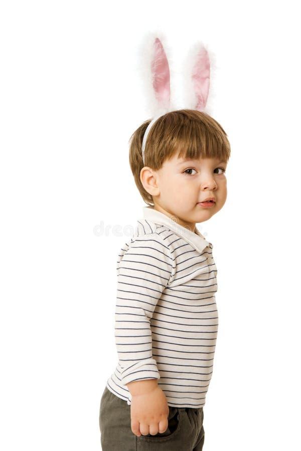 bunny αγοριών στοκ εικόνα με δικαίωμα ελεύθερης χρήσης