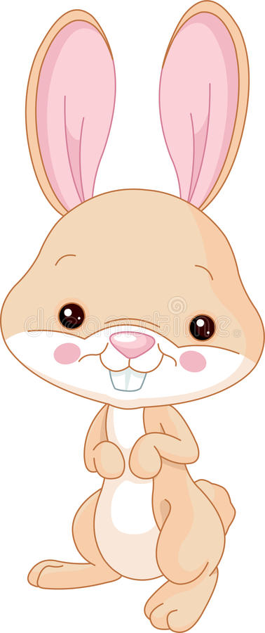 bunny ζωολογικός κήπος διασκέδασης απεικόνιση αποθεμάτων