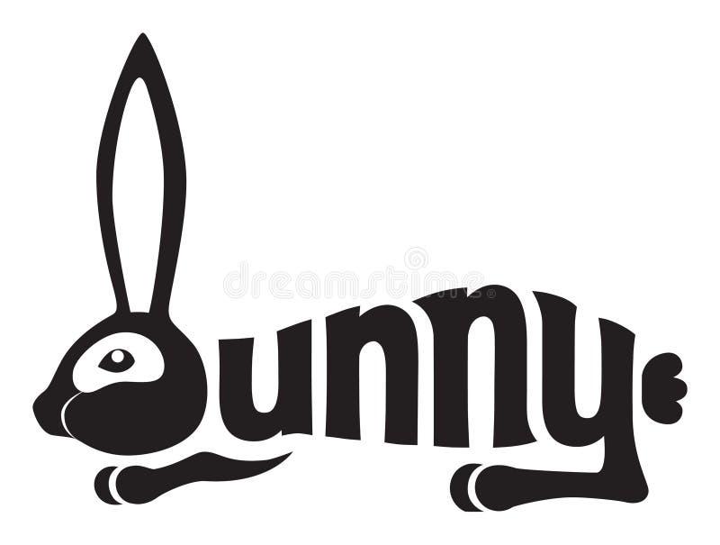 bunny κουνέλι απεικόνιση αποθεμάτων