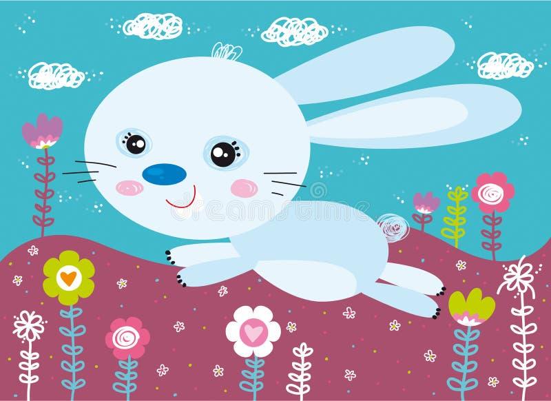 bunny λίγα απεικόνιση αποθεμάτων