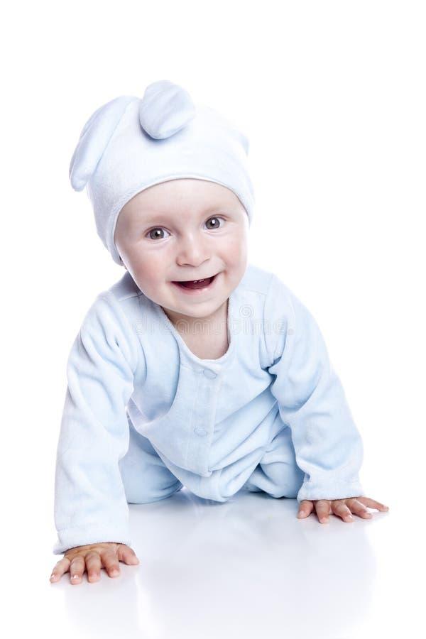 bunny μωρών απομόνωσε τη φθορά κ&om στοκ εικόνες