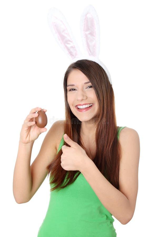 bunny νεολαίες κοριτσιών αυ& στοκ εικόνα