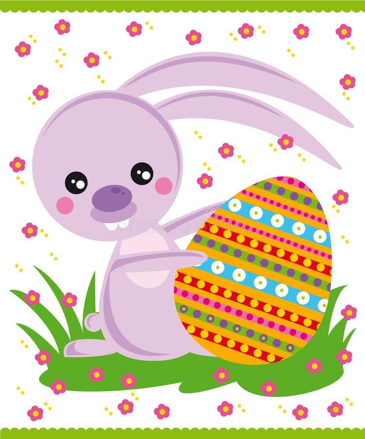bunny Πάσχα διανυσματική απεικόνιση