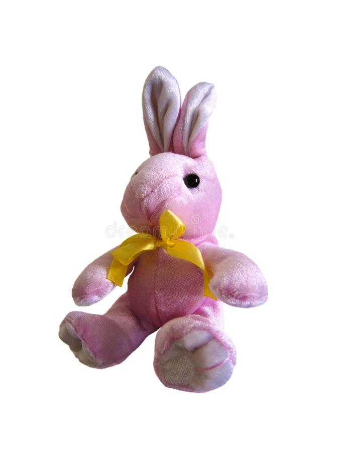 bunny ροζ Πάσχας στοκ φωτογραφίες με δικαίωμα ελεύθερης χρήσης