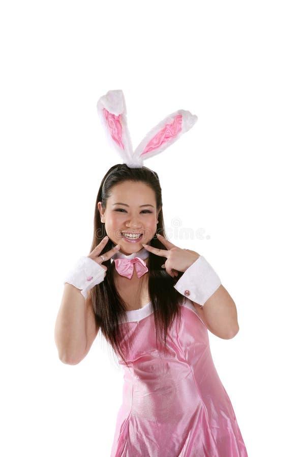 bunny χαριτωμένο Πάσχα στοκ φωτογραφίες με δικαίωμα ελεύθερης χρήσης