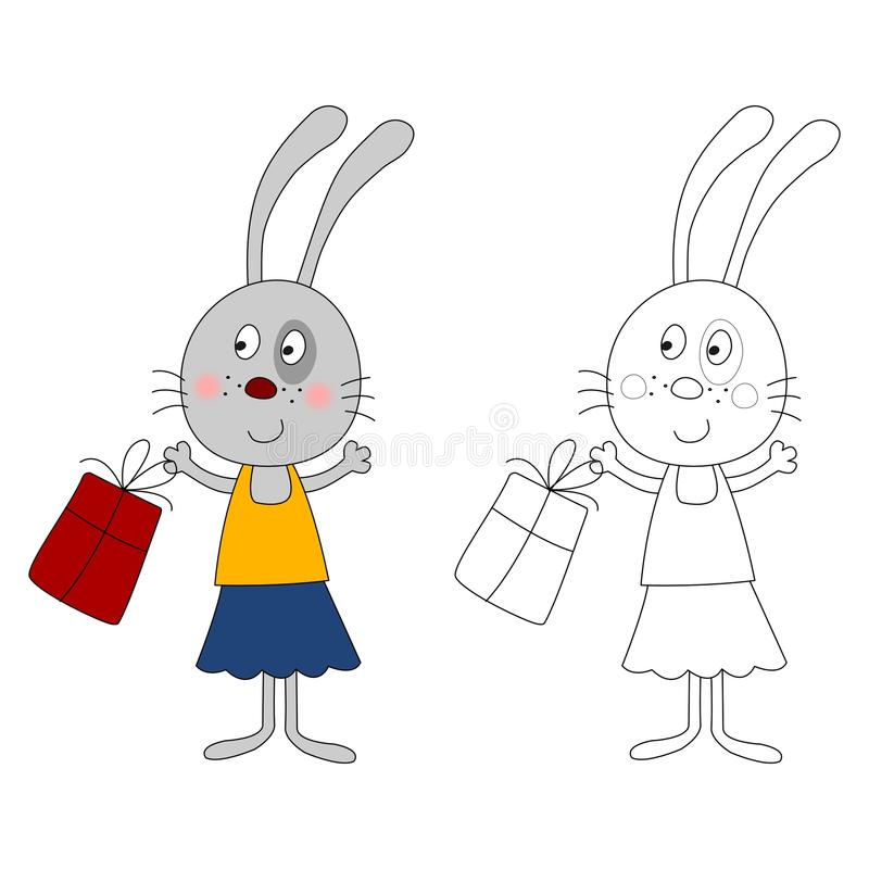 Download Bunny stock illustration. Image of picturesque, dreams - 20293485