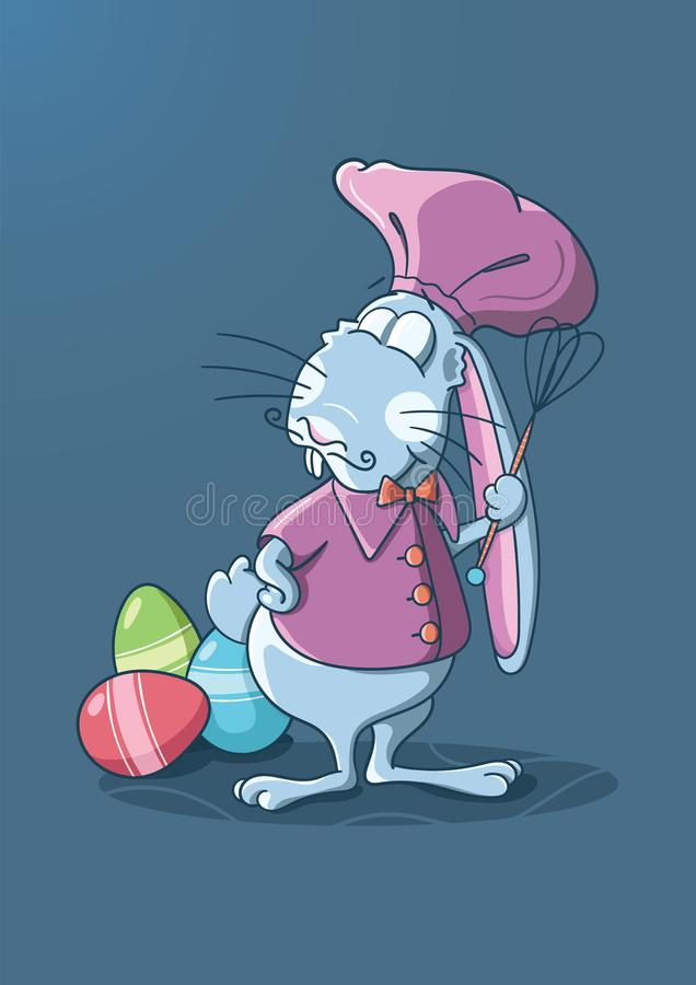 Bunny the chef royalty free stock image