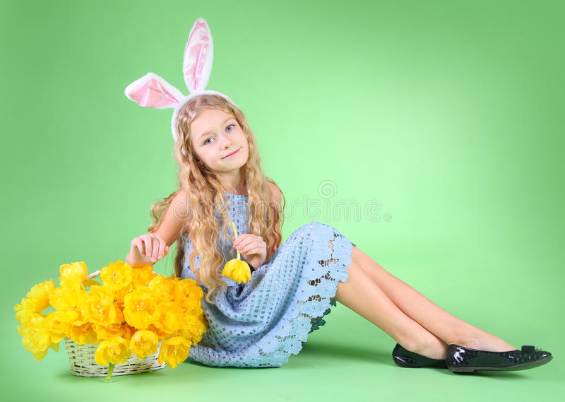 Bunny Girl stockfoto