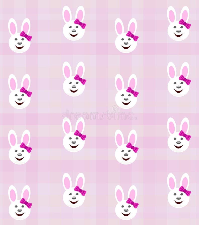 Bunny girl background stock photography