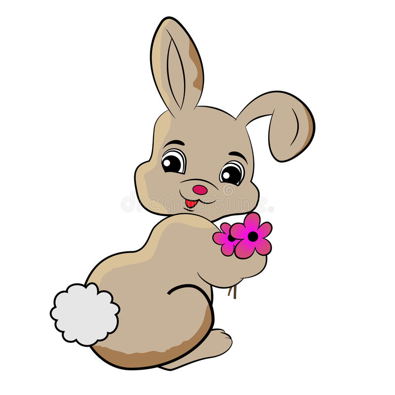 bunny rabbit clipart stock vector illustration of holiday 74622336 rh dreamstime com bunny rabbit pictures clip art bunny rabbit clip art for easter