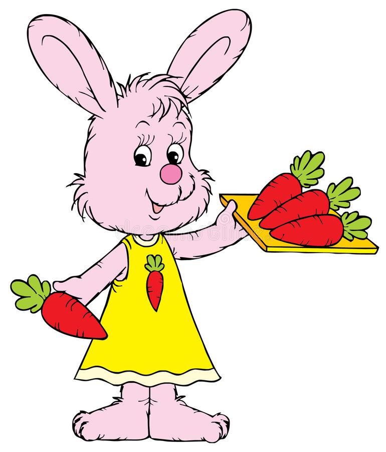 Download Bunny (vector clip-art) stock vector. Image of drawing - 3455824