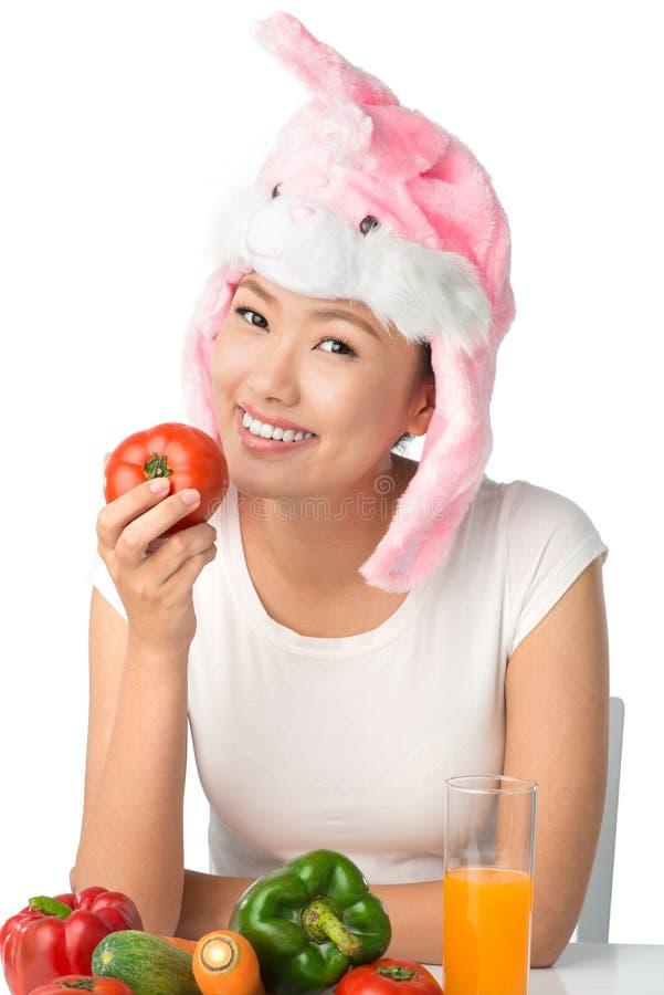 Download Bunny stock photo. Image of enjoying, nutrition, holding - 31998812