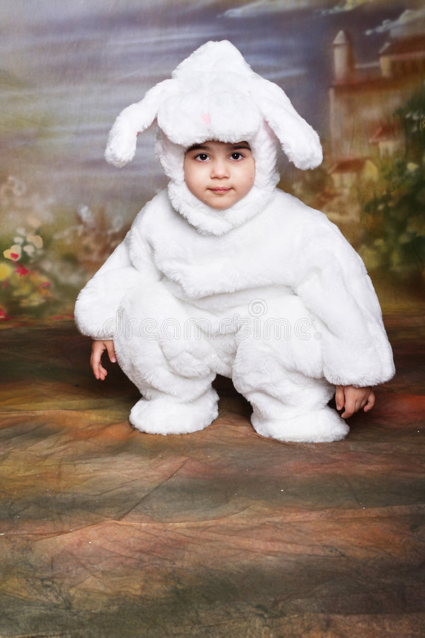 bunny5 easter royaltyfri foto