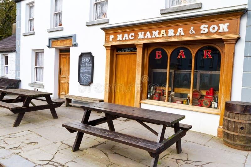 bunratty ιρλανδικό μπαρ στοκ φωτογραφία