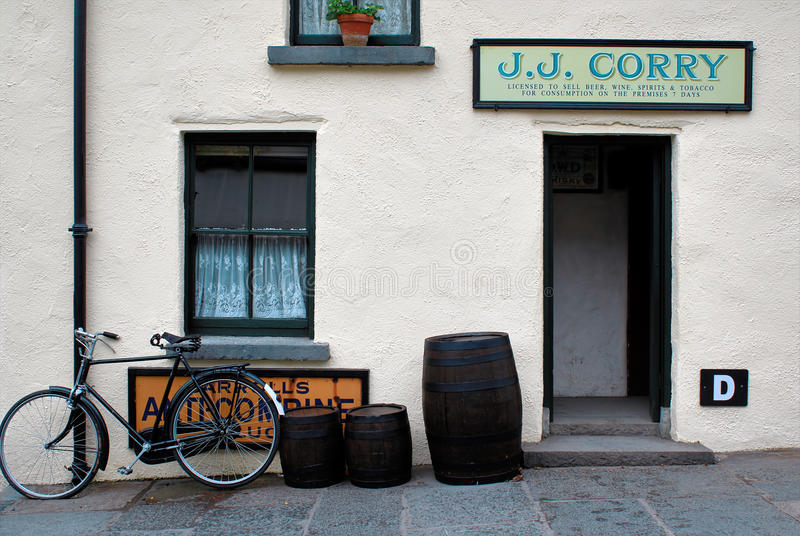 Bunratty, Ιρλανδία στοκ φωτογραφίες με δικαίωμα ελεύθερης χρήσης