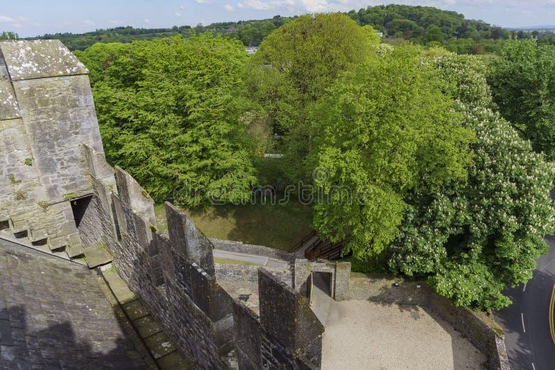 Bunratty Castle & λαϊκό πάρκο στοκ εικόνα