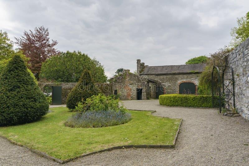 Bunratty Castle & λαϊκό πάρκο στοκ εικόνα με δικαίωμα ελεύθερης χρήσης