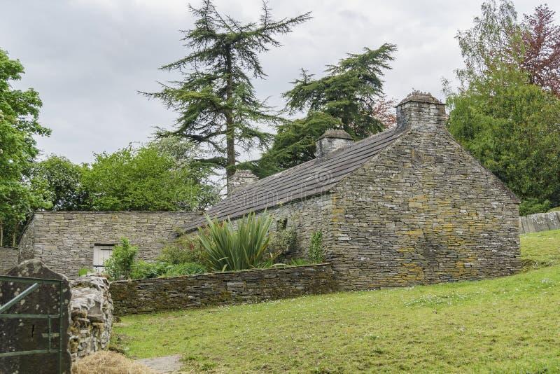 Bunratty Castle & λαϊκό πάρκο στοκ φωτογραφίες