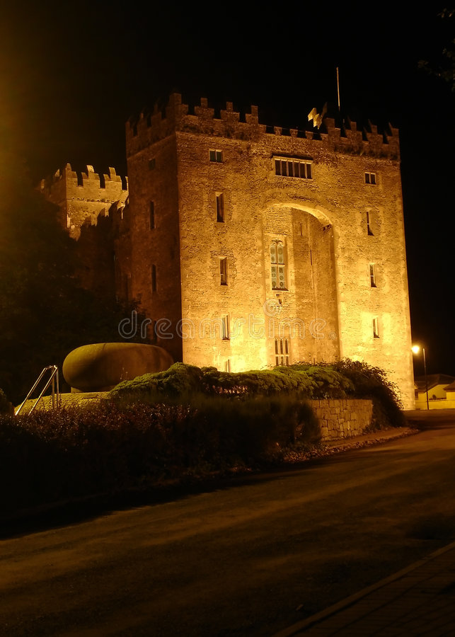 Bunratty Castle, Ireland stock photography
