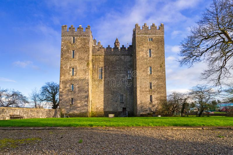 bunratty grodowy Clare co Ireland clare obrazy royalty free