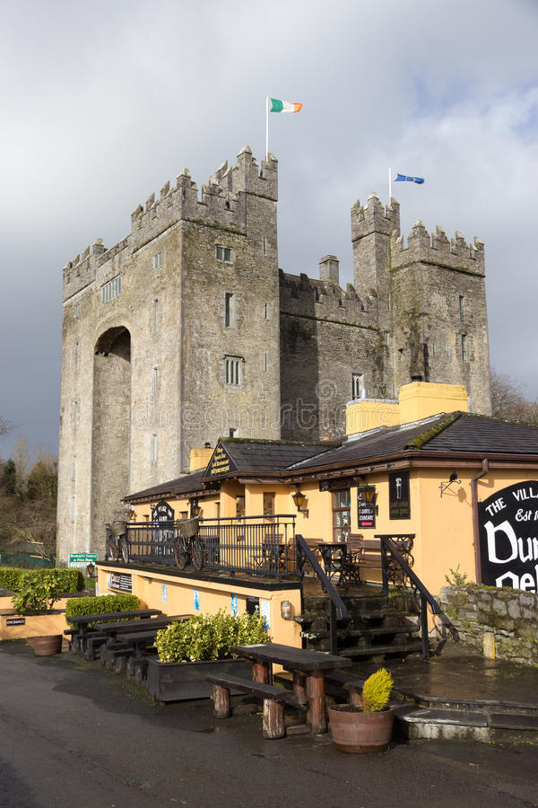 Bunratty kasztel Ireland obraz stock