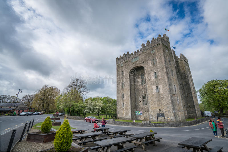 bunratty slott ireland arkivfoto