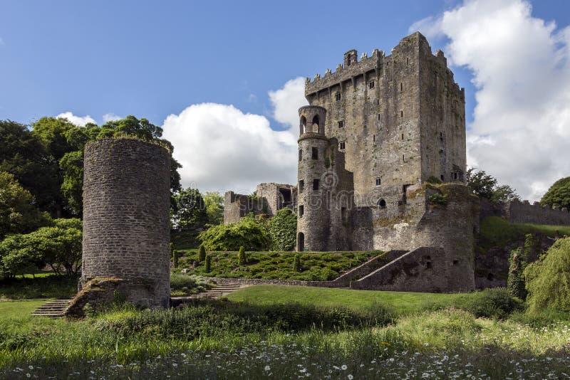 Bunrattykasteel - Provincie Clare - Republiek Ierland royalty-vrije stock fotografie