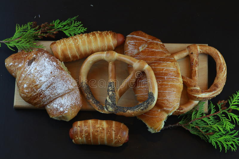 Buns royalty free stock photography