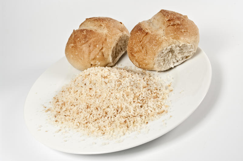 Download Buns and breadcrumb stock image. Image of wheat, crispy - 15064351