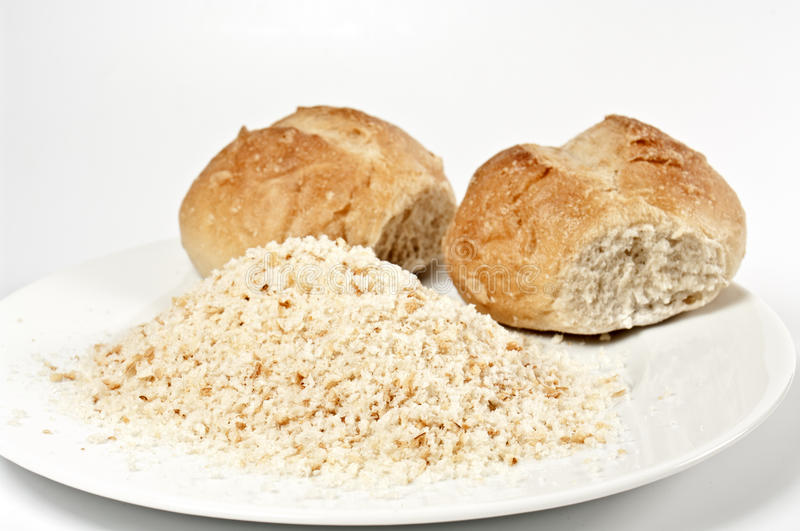 Download Buns and breadcrumb stock image. Image of bread, wheat - 15064381