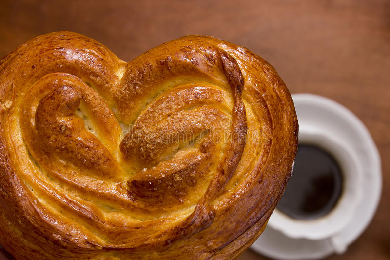 Buns of fancy pastry stock photography