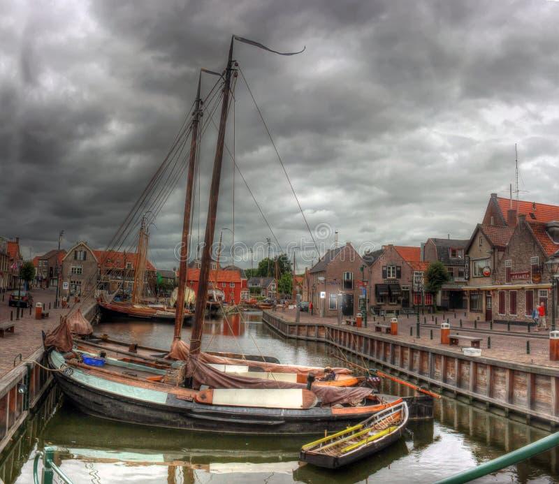 Bunschoten-Spakenburg, Paesi Bassi, Europa fotografie stock