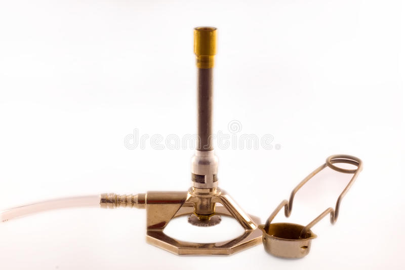 Bunsen Burner royalty free stock photo
