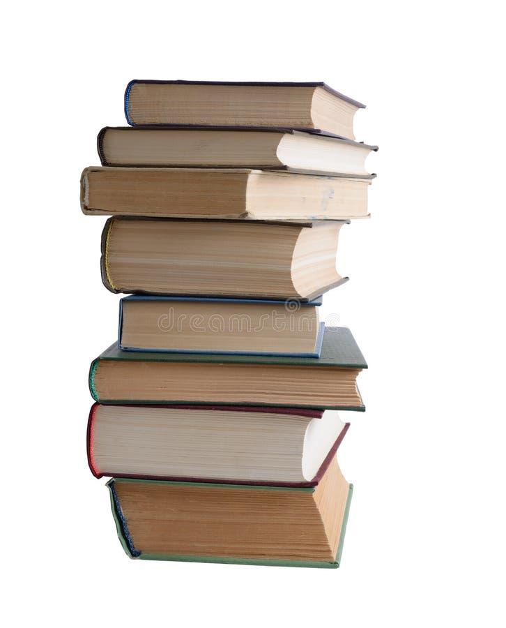 Bunt av böcker royaltyfri foto