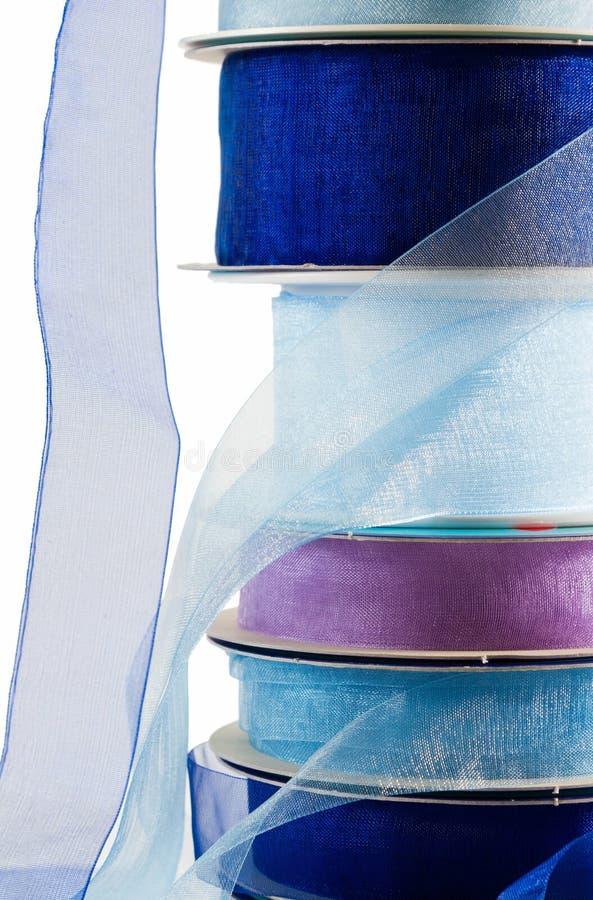 Bunt av det blåa florbandet royaltyfria foton