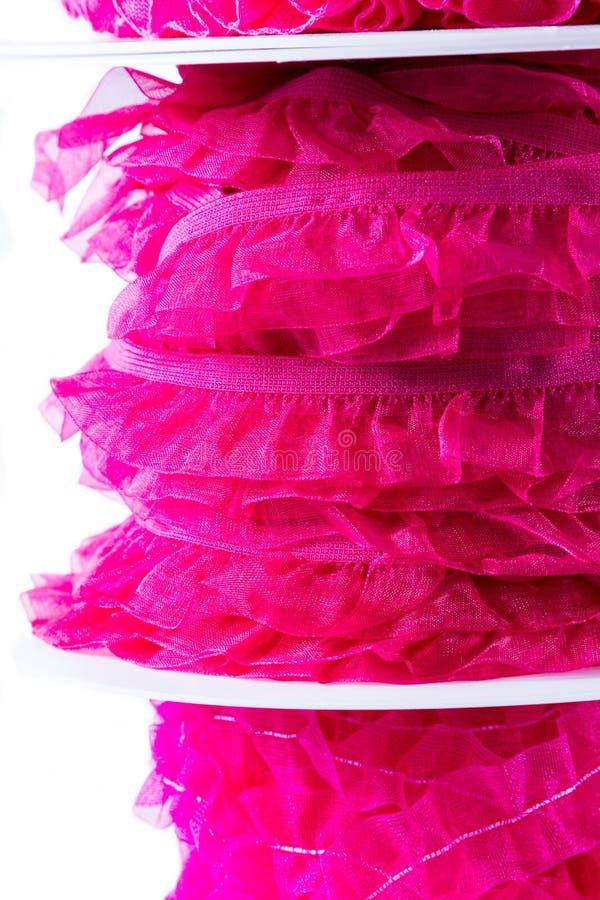 Bunt av det rosa och röda bandet royaltyfri bild