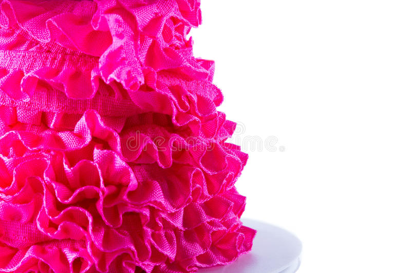 Bunt av det rosa och röda bandet royaltyfria bilder
