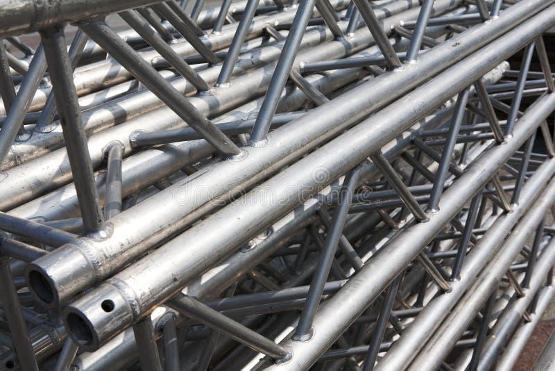 Bunt av metallbråckband arkivbilder