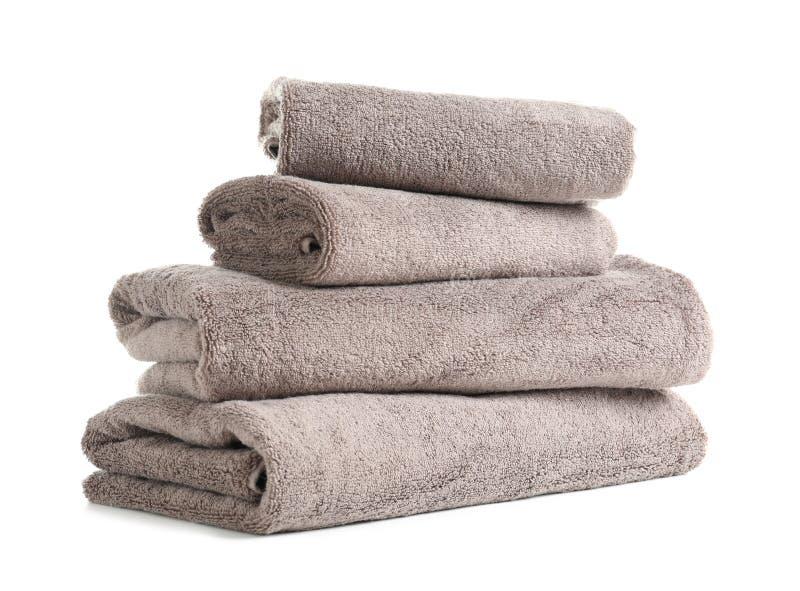 Bunt av nya handdukar royaltyfri foto