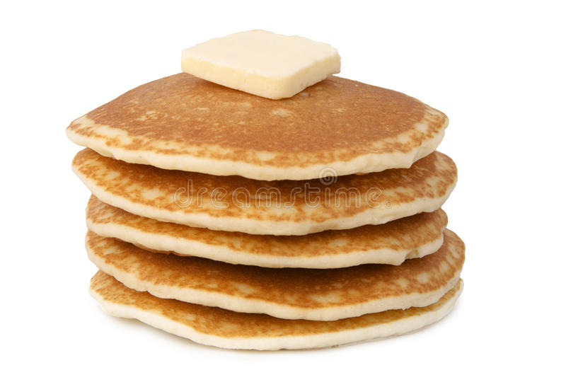 Bunt av pannkakor royaltyfri foto