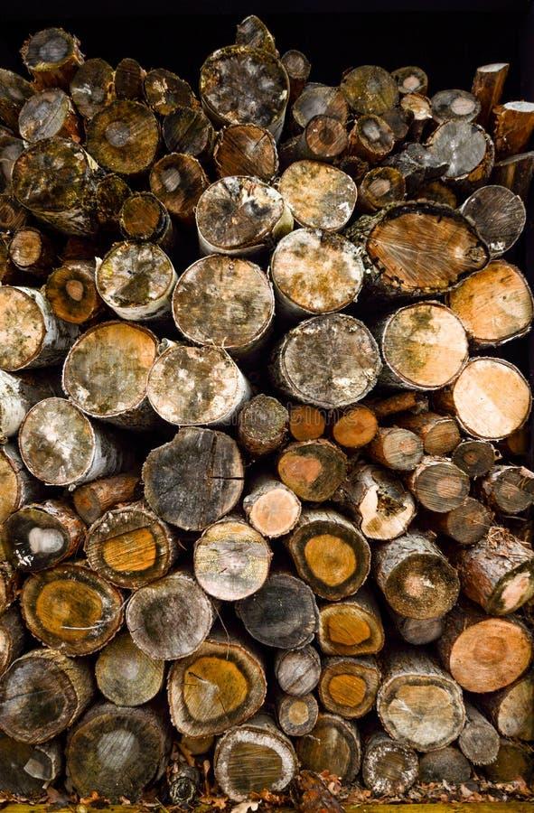 Bunt av trä arkivfoton
